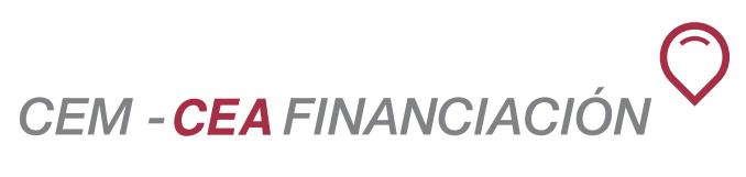 CEM-CEA Financiación